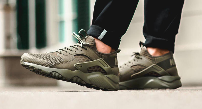 Olive Nike Air Huarache Ultra | Sole Collector