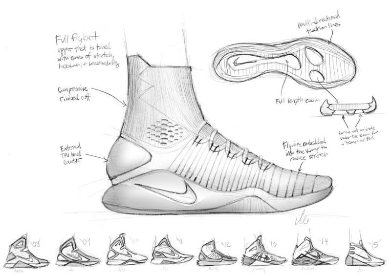 Nike Hyperdunk 2016 Sketch