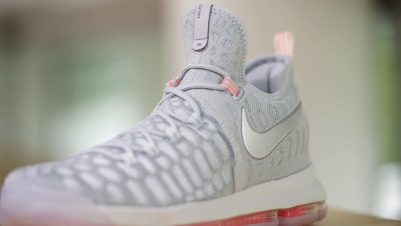 pretty nice df252 1e16e Nike KD 9 Cool Grey Pink (3)