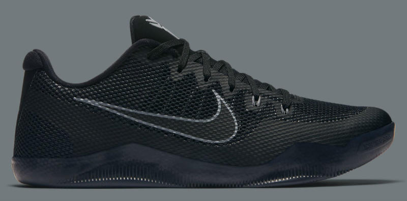 more photos c8e4e 9d0e8 Nike Kobe 11 EM Low Black Cool Grey 836183-001 (2)