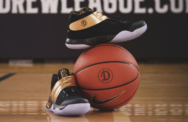 The Drew League Champions Were Given Celebratory Nike Kyrie 2s