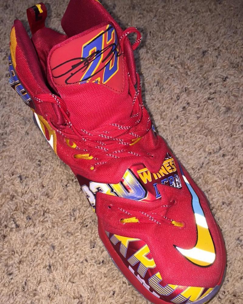 3dcf68a4a564f Nike LeBron 13 EYBL Girls