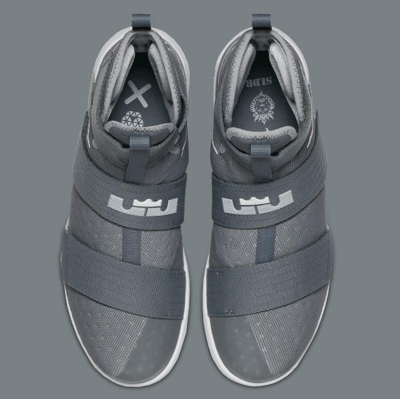 nike lebron soldier 10 all grey