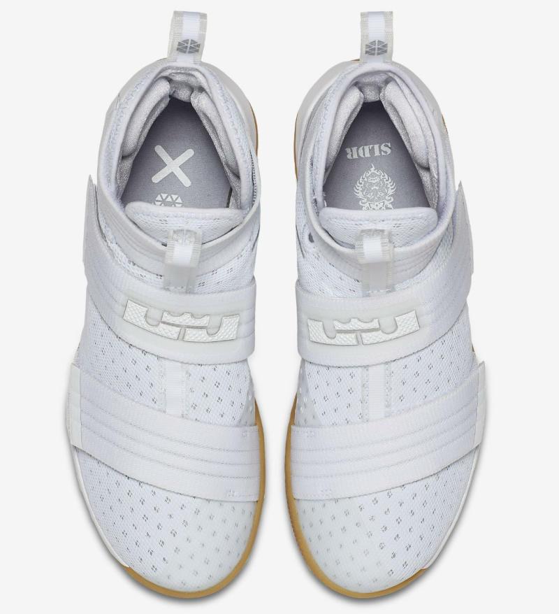 f4ea5b5fd0cf Nike LeBron 10 White Gum Strive for Greatness 844379-101 (5)