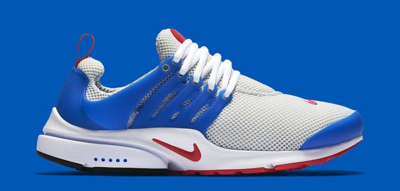 Nike Presto Grey Red Blue | Sole Collector