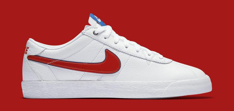 best loved d833d 5371a Nike Bruin SB Premium SE QS Color  White University Red-Blue Spark Style     716814-164