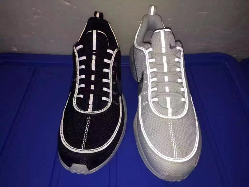newest c045e 4e75e Nike Gets Flashy on Spiridon Retros. Check out the reflective ...
