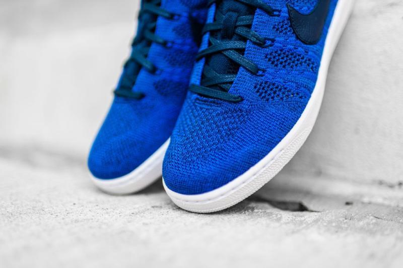 beff81a92e0b5 Nike Tennis Classic Ultra Flyknit Racer Blue (2)