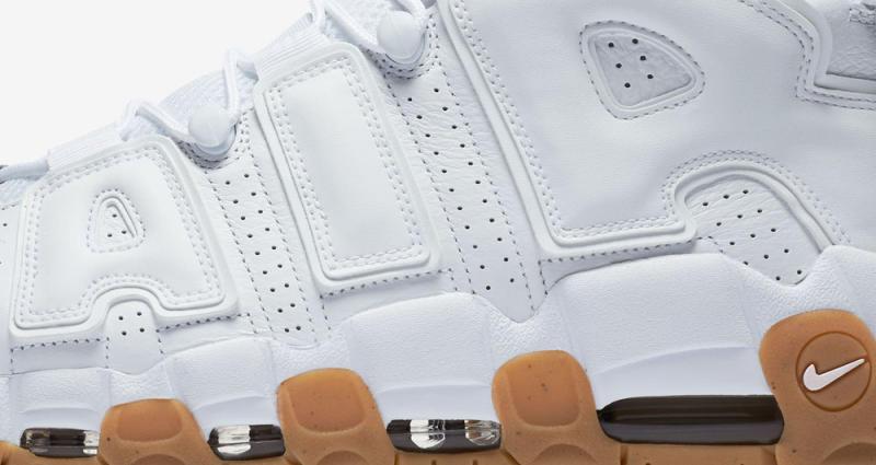 709364fbca Nike Max Uptempo Gum Bottom Nike Air More Uptempo 96 Black And White ...