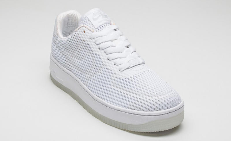 c0819fca717 Nike Air Force 1 Low Upstep BR White on White | Sole Collector