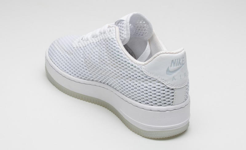 new concept 2c355 cd229 Nike Air Force 1 Low Upstep BR White on White | Sole Collector