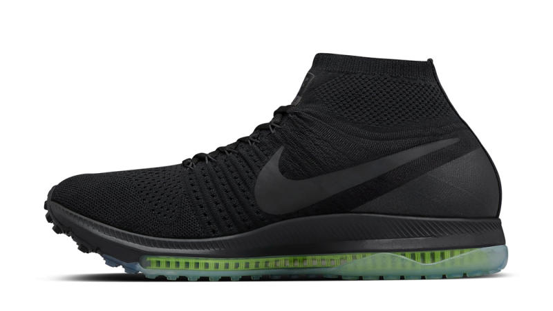 the best attitude a6bef 0f0ae NikeLab Air Zoom All Out Flyknit Black Volt Release Date