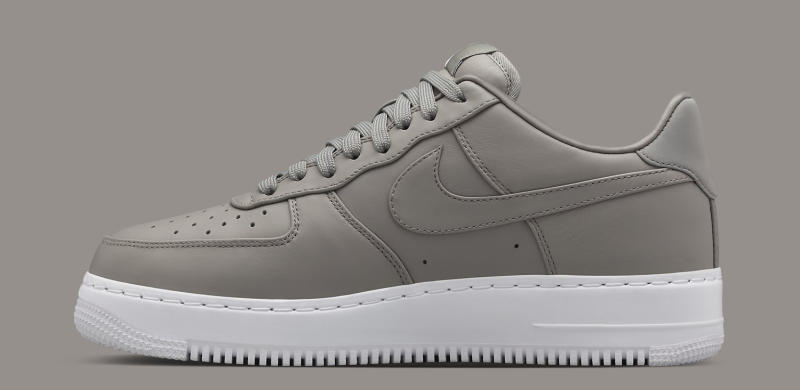 best website f214f 4921a NikeLab Air Force 1 Mid Light Charcoal | Sole Collector