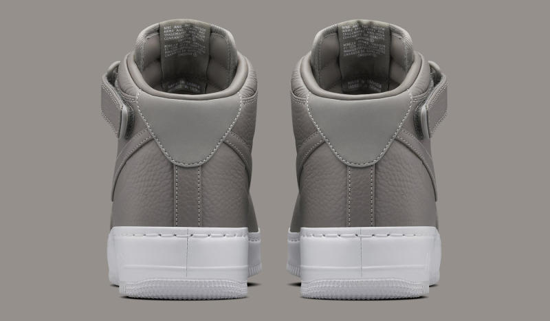0b130d87 NikeLab Air Force 1 Low Release Date: 03/03/16. Color: Light Charcoal/Light  Charcoal-White Style #: 555106-002