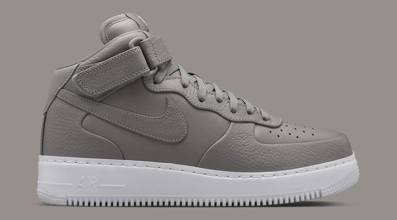 NikeLab Air Force 1 Mid Light Charcoal | Sole Collector