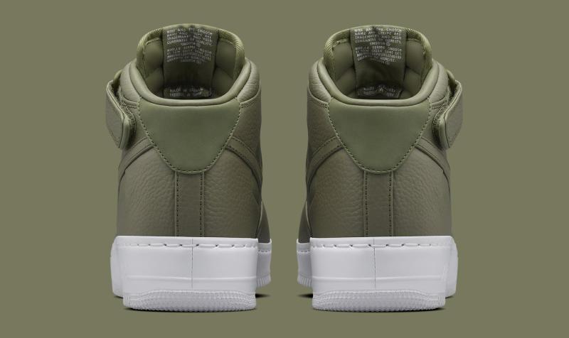 half off 6bea1 fce67 NikeLab Air Force 1 Mid Release Date  03 03 16. Color  Urban Haze Urban Haze-White  Style    819677-300