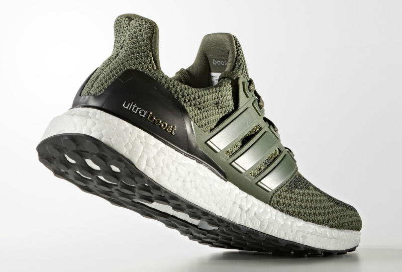 Olive Green adidas Ultra Boost (5)
