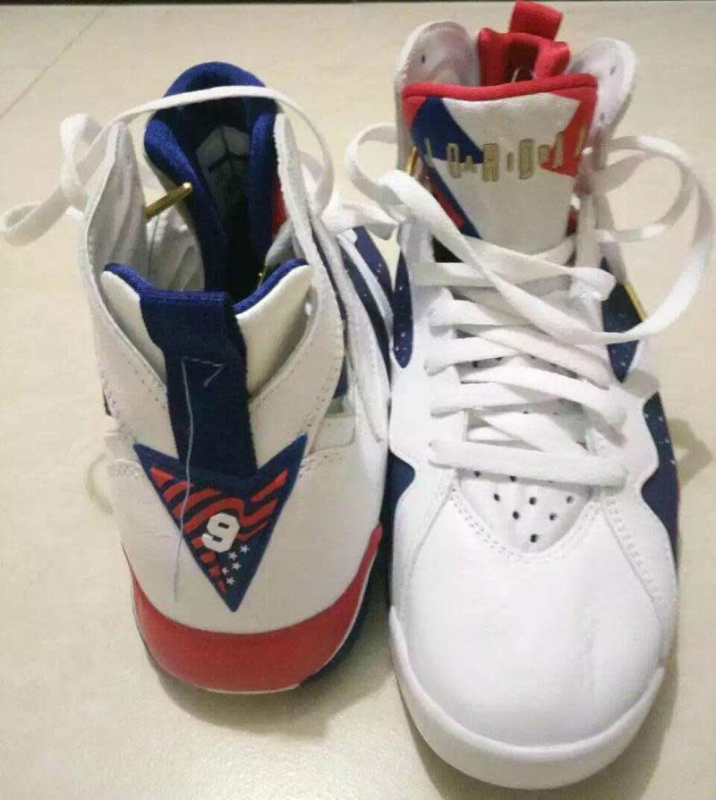 """""""Olympic"""" Jordan 7s Come Back With a Twist"""