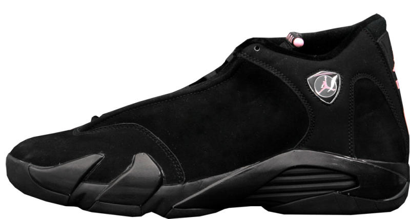 faf9b7baa1084c Air Jordan 14 Retro Women s Style Code  312274-001. Colorway  Black Real  Pink-Metallic Silver Release Date  10 22 2005