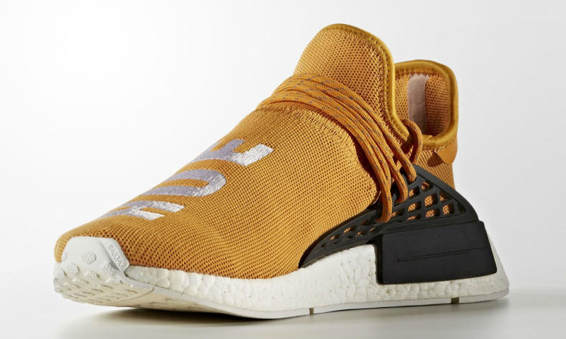 Orange Pharrell adidas NMD Human Race Tangerine (4)