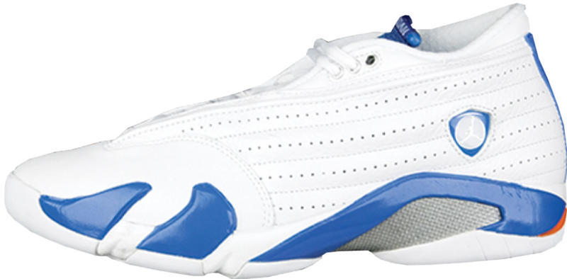 new style 14a28 799ad Air Jordan 14 Retro Low  Pacific Blue