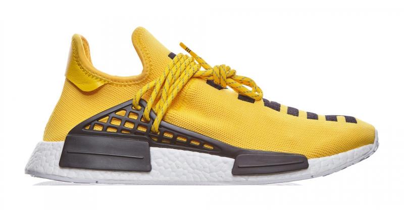 Adidas Pharrell Nmd Yellow Sole Collector
