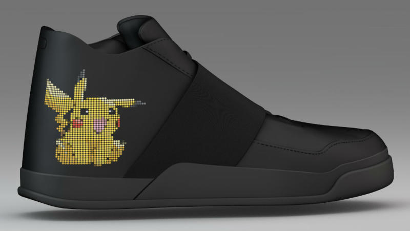 Vixole LED Pokemon Go Sneakers