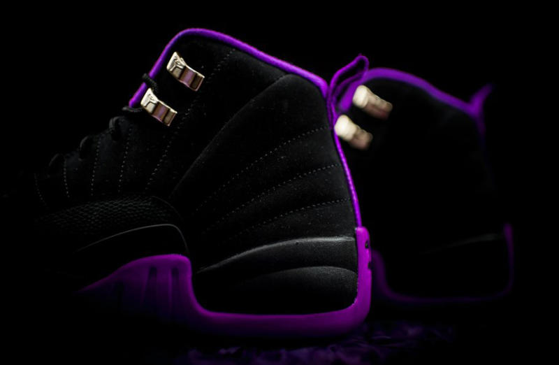 ... for the Hyper Violet Air Jordan 12 GS which will launch next weekend