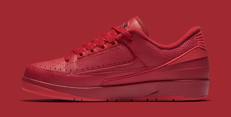 2e172ce4303fef All-Red Air Jordan 2 Lows Release Next Week