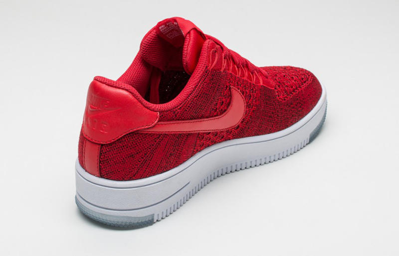pretty nice 3504d 45086 Nike Made Red Flyknit Air Force 1s