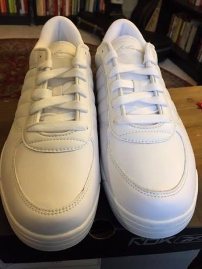 Check out this listing for a pair of Jay Z s S.Carter Reeboks here. ea0ab0610