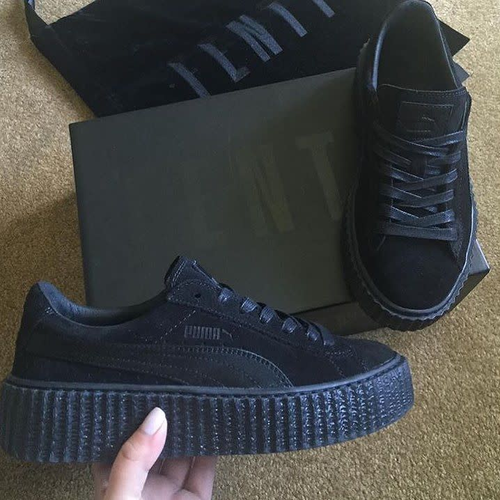 rihanna puma creepers may 2016 sole collector. Black Bedroom Furniture Sets. Home Design Ideas