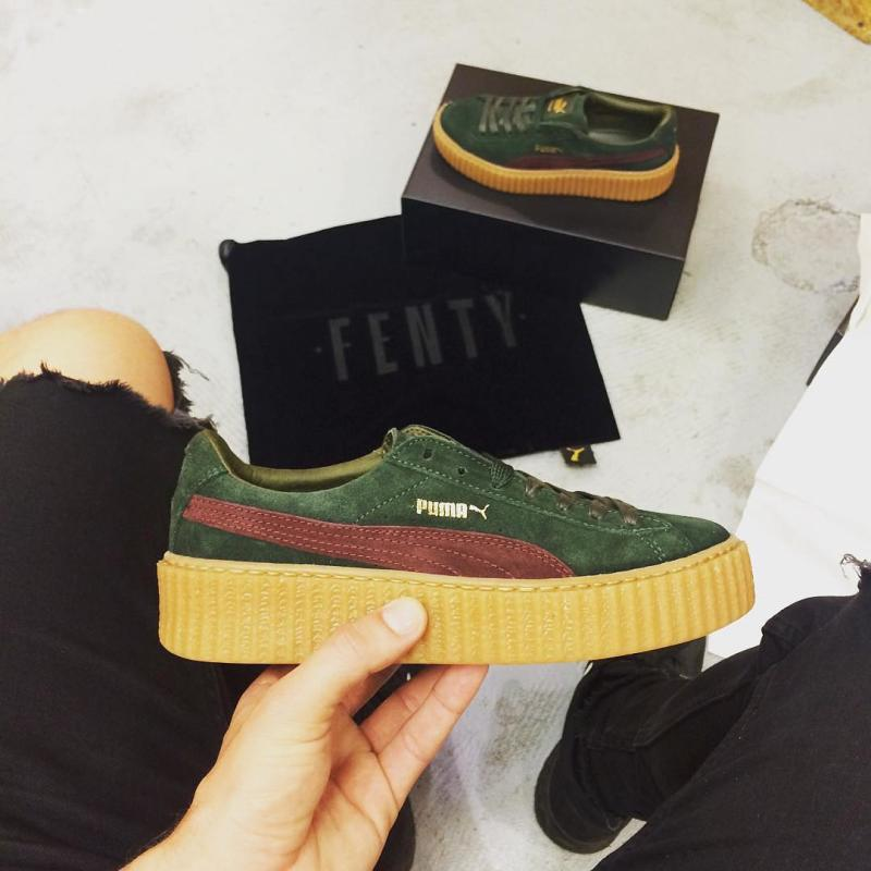 puma creepers finish line