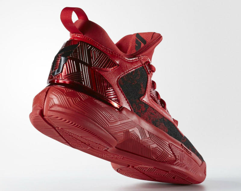 on sale 6b287 9fae6 The adidas D Lillard 2 Wears Red for Rose City
