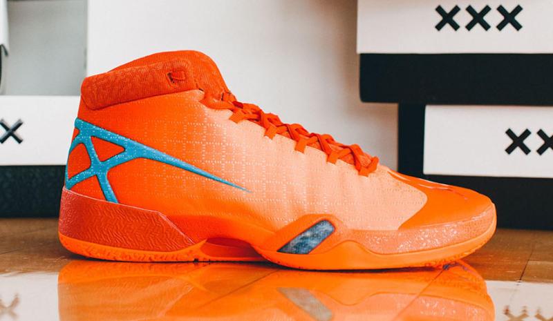 pic of air jordan 30 orange