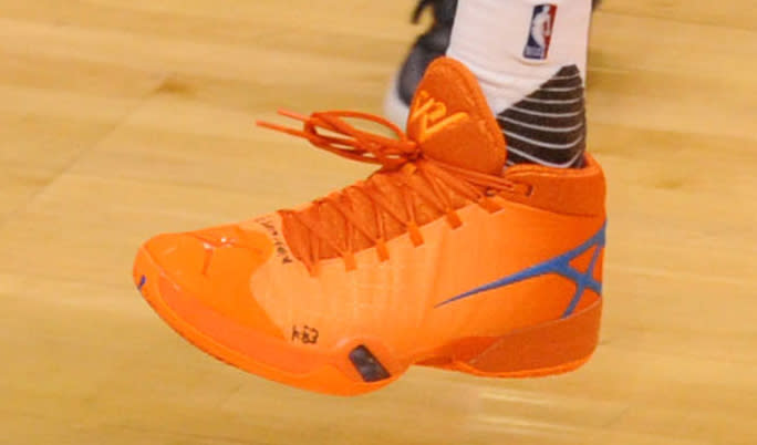 Russell Westbrook Air Jordan 30 Playoffs Orange | Sole ...
