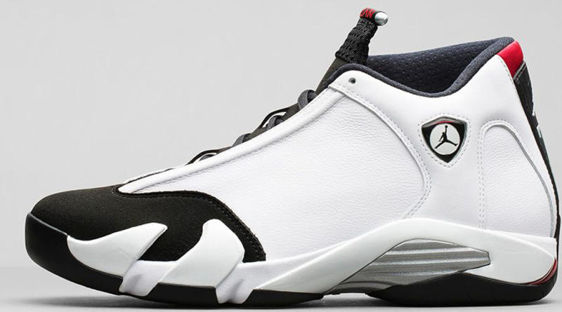 watch eb514 d91e0 Air Jordan 14 Retro  Black Toe  Style Code  487471-102. Colorway  White Black-Varsity  Red-Metallic Silver Release Date  09 20 2014