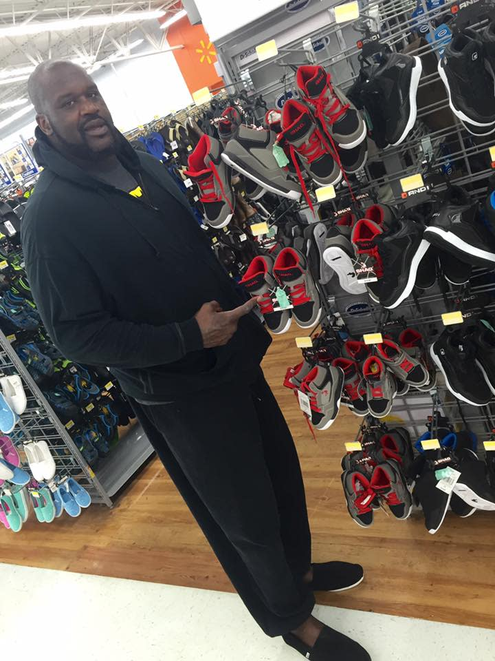 Shaq Says He's Sold 120 Million Pairs of Kids' Sneakers at Wal-Mart