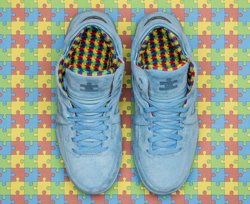 Shoe City x FILA Cage Puzzlie Piece for Autism Awareness (2) 46666e694