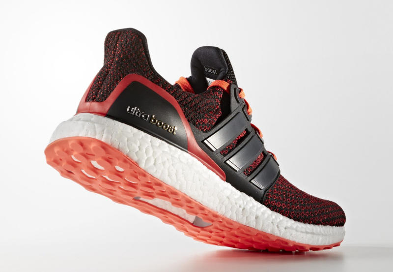 Ultra Boost Solar Red