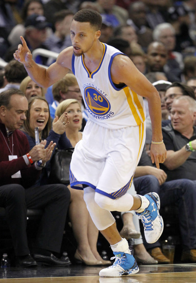 Stephen Curry Scores 51 Points in the 'Haight Street' Under Armour Curry Two (1)