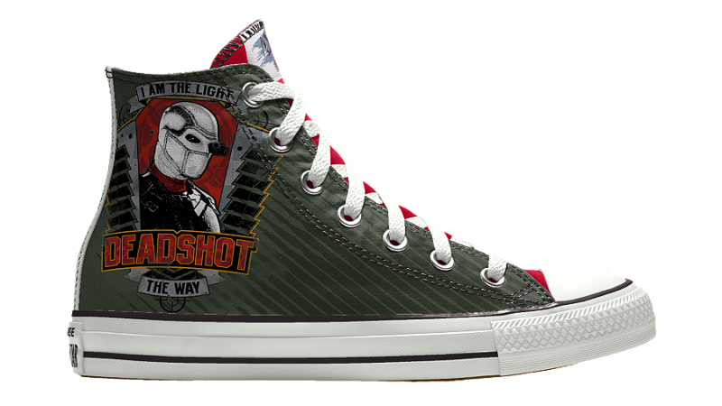 You Can Design Your Own Squad Sneakers