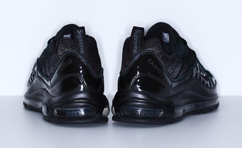 black air max 98 supreme nz