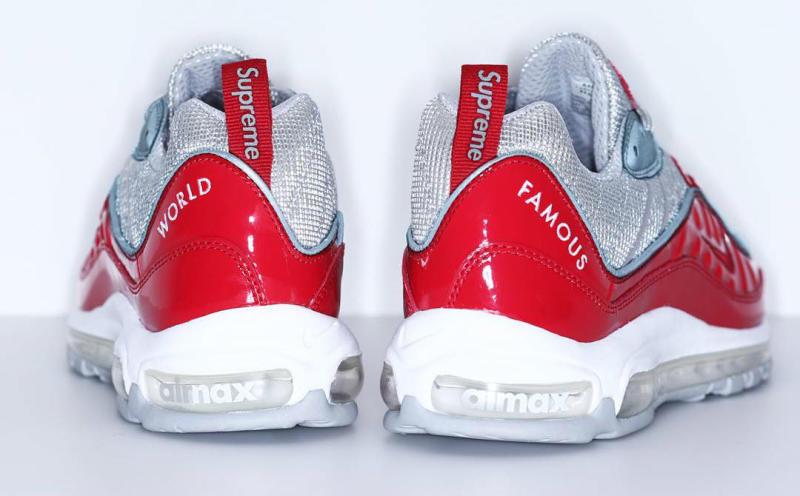 Supreme x Nike Air Max 98 Red