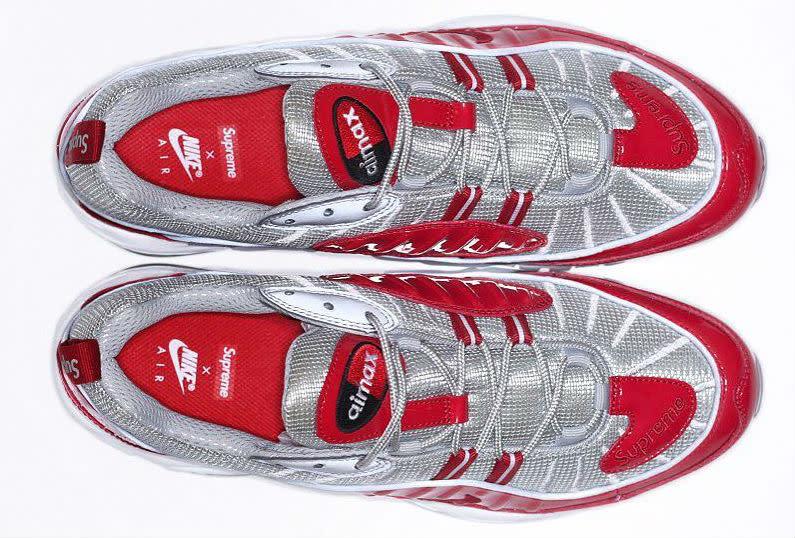 Supreme x Nike Air Max 98 Red (3)