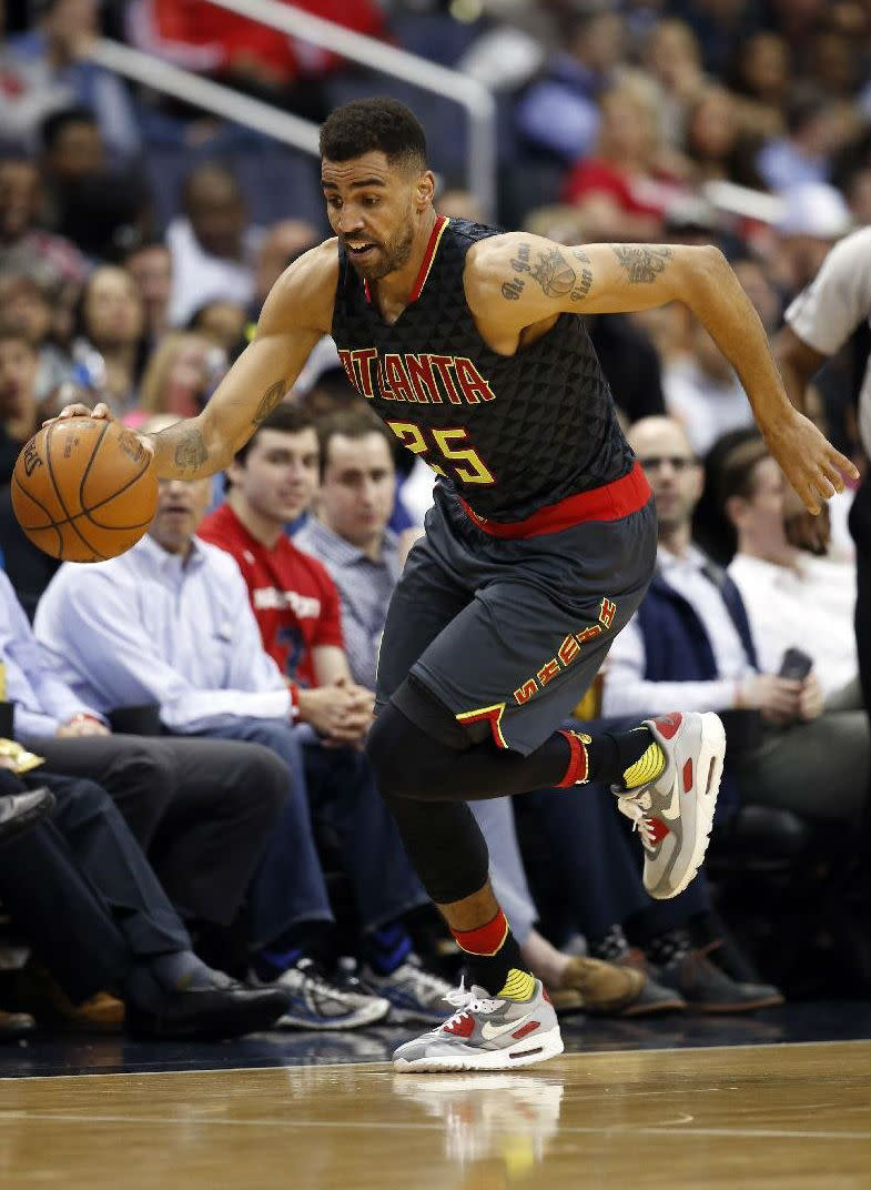 official photos efb7c ddc91 Thabo Sefolosha Plays in the Nike Air Max 90 | Sole Collector