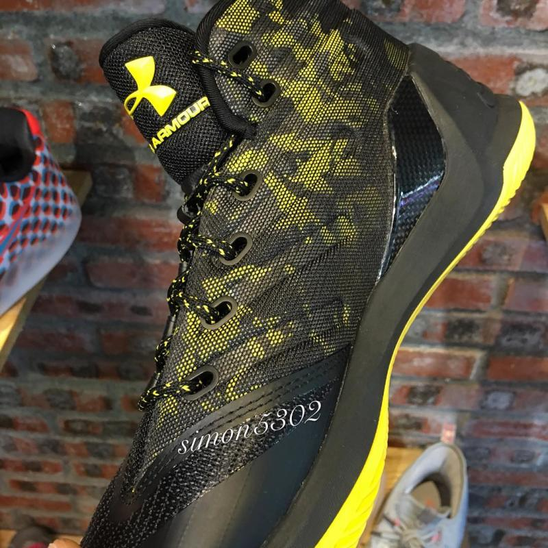 buy popular 60b61 ff070 Under Armour Curry 3 Black Yellow Camo (2)
