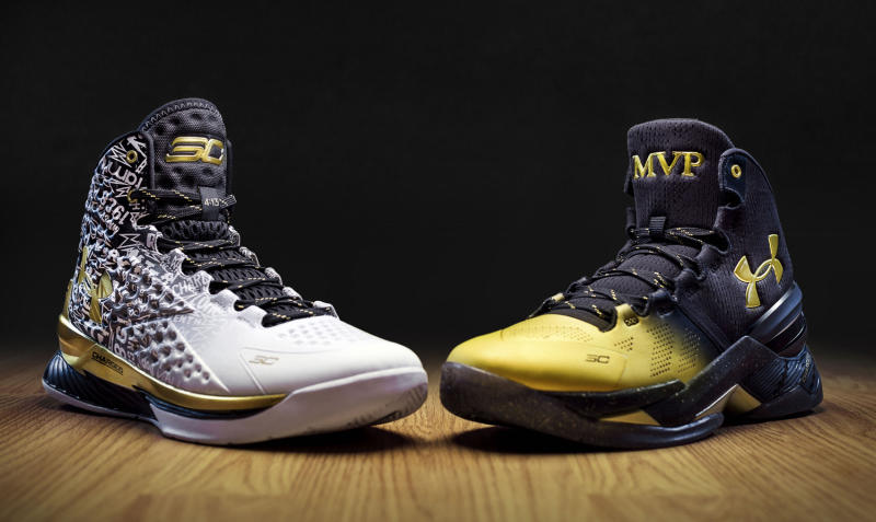 KICKZ CURRY ON FIRE Steph Curry and his Golden