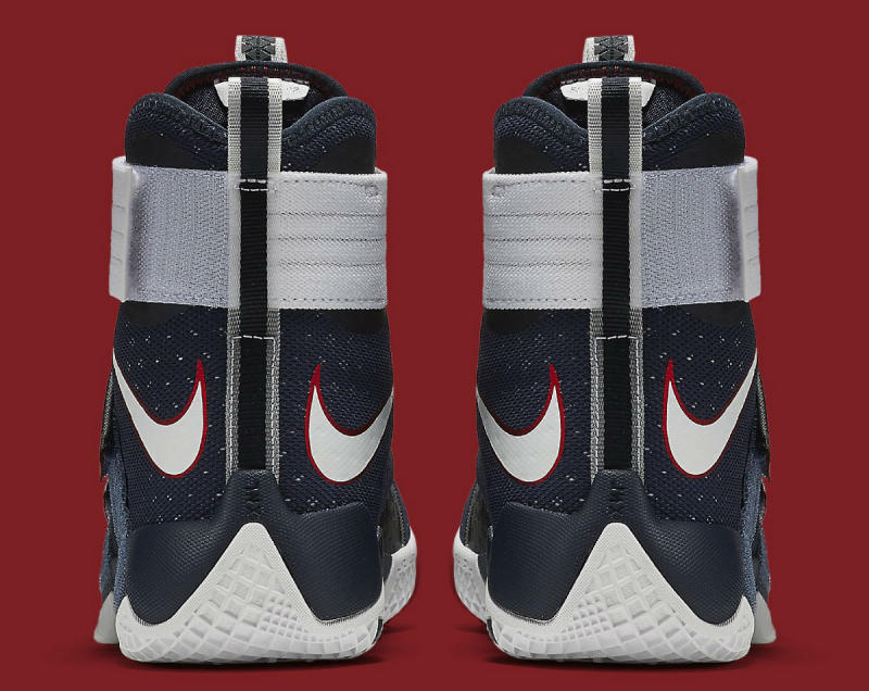 reputable site 2fdee 79032 Nike LeBron Soldier 10 USA 844379-416 (6)