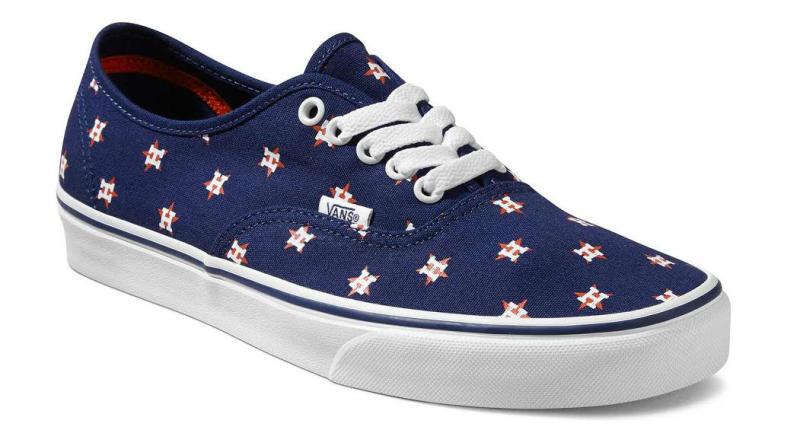Houston Astros Vans Shoes